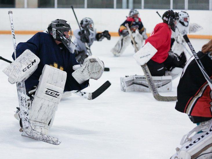 Summer Goalie School Skating