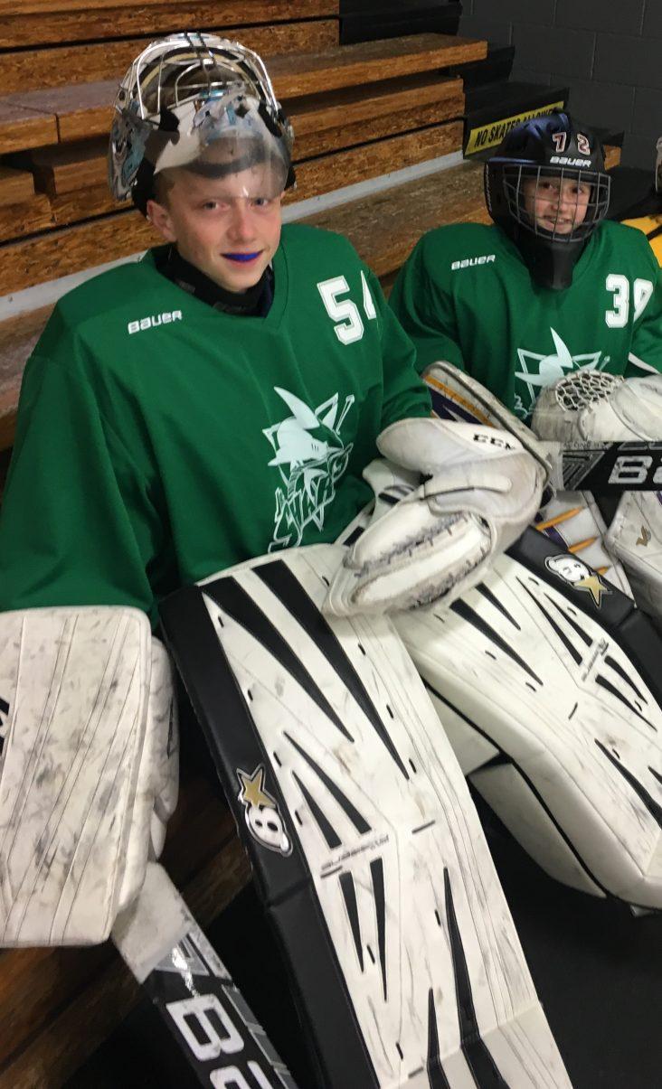 Chloe and Jackson Baker Goalie of the Week