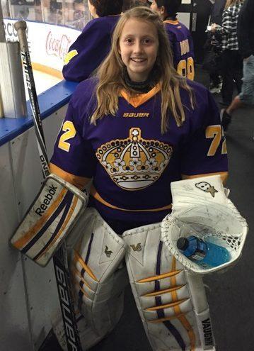 Chloe Baker Goalie of the Week